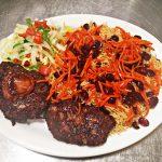 afghan-pilao-chapal-kebab