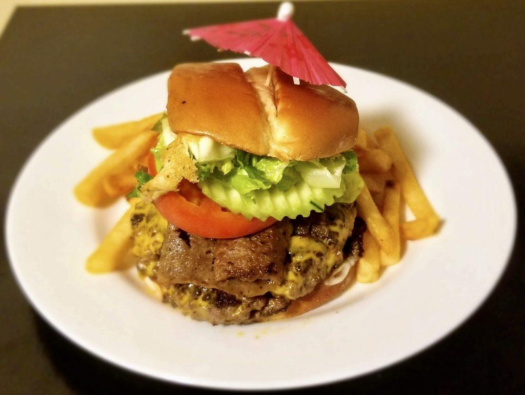 Gyro Beef Burger